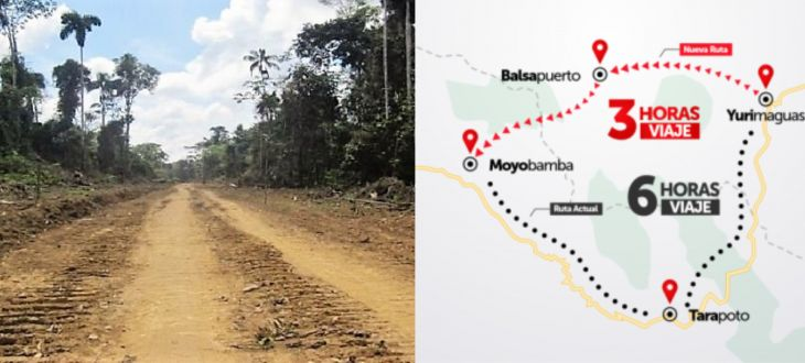 Realizarán nuevamente expedición a la ruta Yurimaguas – Balsapuerto – Moyobamba
