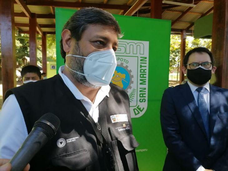 Ministro de educación evalúa reinicio de clases en zonas rurales de la región San Martín