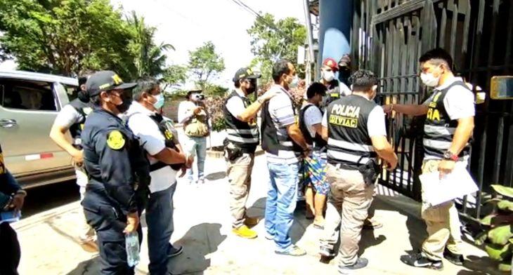 San Martín : Intervienen a 17 personas acusadas de ser parte de una presunta organización criminal