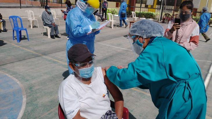 San Martín: Este miércoles y jueves se realizará vacunación en 16 distritos de los 59 que no fueron priorizados inicialmente por el Minsa