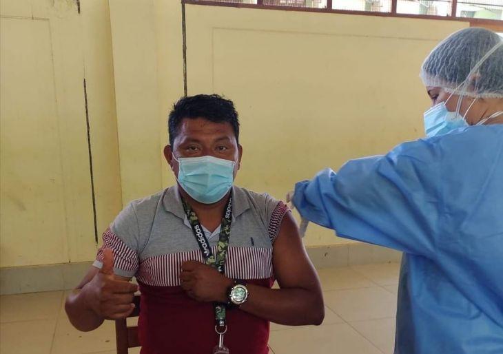 22 mil 284 personas se vacunaron entre el 20 y 24 de julio en la Región San Martín