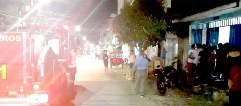 Tensión en el barrio Comercio por bomba molotov arrojada a local comercial