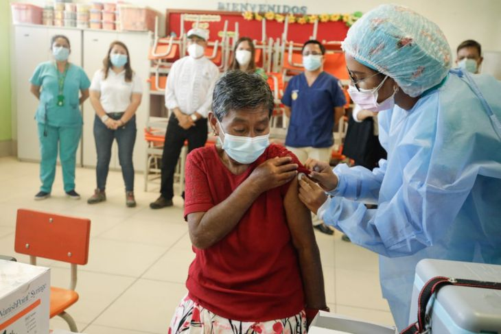 Más del 65% de profesores de zonas rurales fueron vacunados contra la Covid 19 en la región San Martín