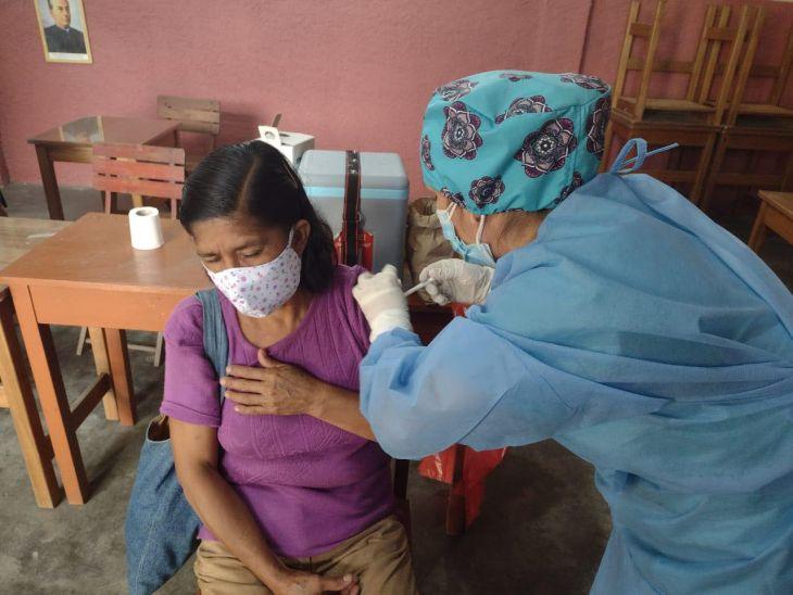 Hoy continúa jornada de vacunación contra la Covid 19 para personas de 50 a 59 años en la Región San Martín