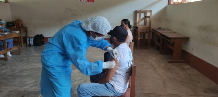 Desde mañana jueves 22 al sábado 24 se realizará campaña de vacunación para personas entre 40 y 49 años