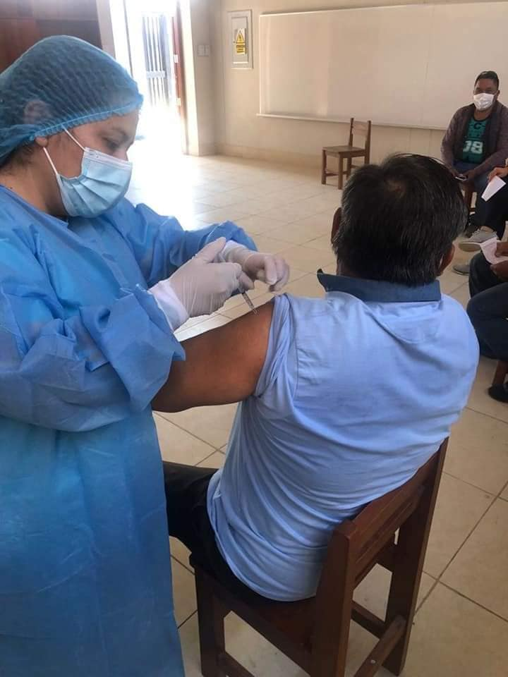 Desde el Lunes 2 de agosto se reiniciarán las jornadas de vacunación para segundas dosis