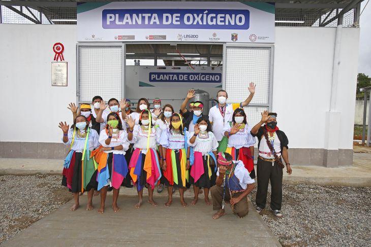 Proyecto Legado pone en funcionamiento planta de oxígeno medicinal en Hospital de Lamas