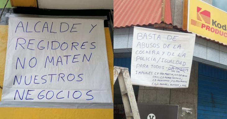 Empresarios de la zona centro Tarapoto piden a la MPSM adecué Ordenanza N°013-2019 y permita estacionamiento de motos lineales