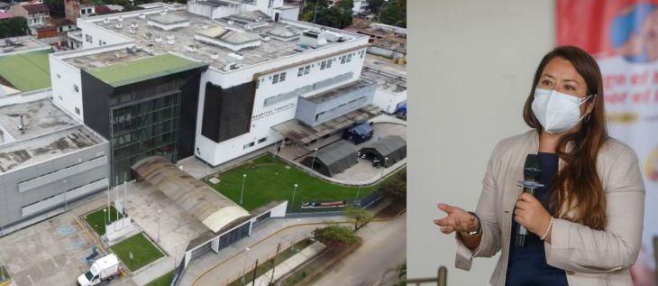 Sobre propuesta de para construir un hospital por cada región, la Directora Regional de Salud manifestóqueen San Martín se puede ampliar la categoría del hospital de Tarapoto a nivel III – 1