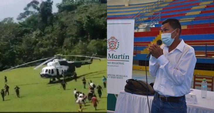 Presidente del Comité de Gestión ACR Cordillera Escalera, mostró su preocupación por que el APU y Vice Apu de la comunidad de Santa Rosillo en el distrito de Huimbayoc