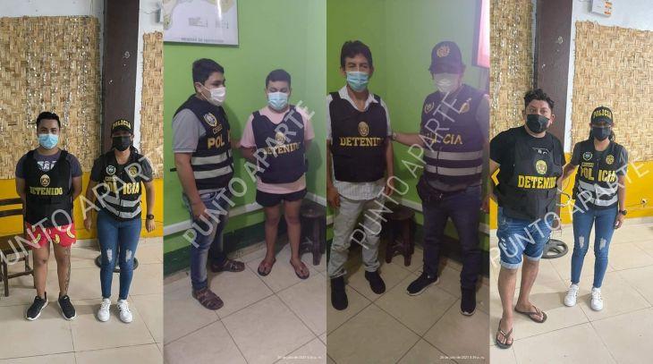 Bellavista: Intervienen a dos sujetos por integrar una supuesta banda de trata de personas
