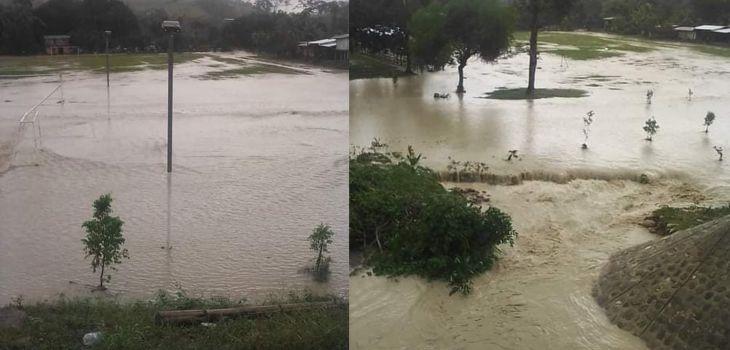 Población de Shamboyacu, Alfonso Ugarte y Paucar, se encuentran sin servicio de agua potable por daños en la captación y línea de conducción por creciente del río Ponaza