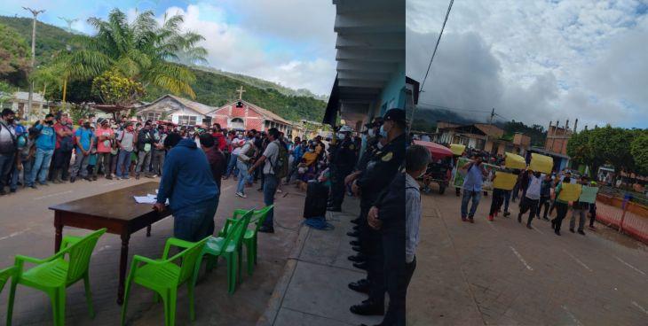Pobladores de comunidades indígenas, dan ultimátum de 15 días al alcalde de Pinto Recodo para cumplir con promesa vial