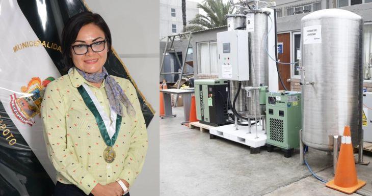 Blanca Díaz: No tenemos el visto bueno del informe técnico por parte de la Dirección Regional de Salud para adquirir la planta de oxígeno medicinal