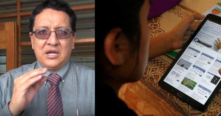 Juan Orlando Vargas: No se colocó los filtros anti pornografía en tablets que entrega el Minedu