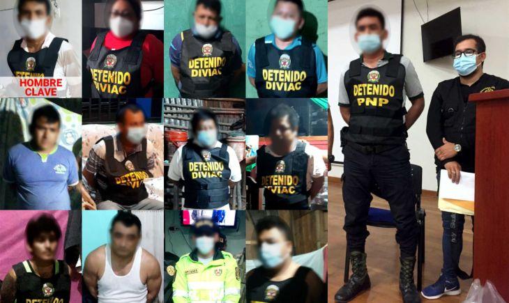 Ministerio Público continúa diligencias y solicitará nuevas medidas coercitivas para integrantes de presunta organización criminal 'Los Remanentes de San Martín'