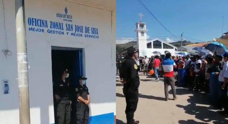 San José de Sisa: Frente de Defensa exige solución inmediata en el servicio de agua potable