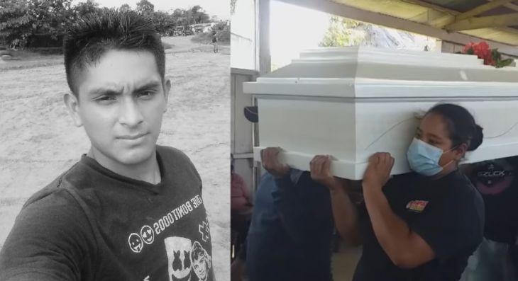 Sepultan en el distrito de Chazuta a sereno de La Banda de Shilcayo que murió a causa del Covid-19