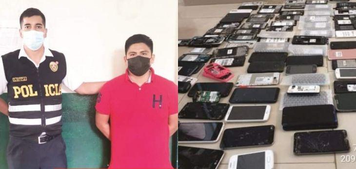 Encuentran teléfonos celulares robados en local comercial y valorizados en cerca de 60 mil soles
