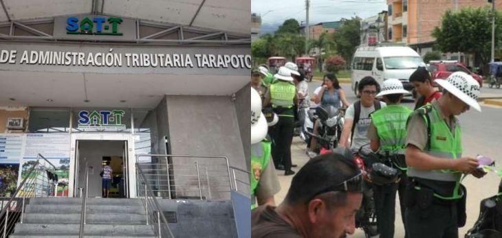 Detectan perjuicio económico superior a S/ 2 millones en SAT de Tarapoto