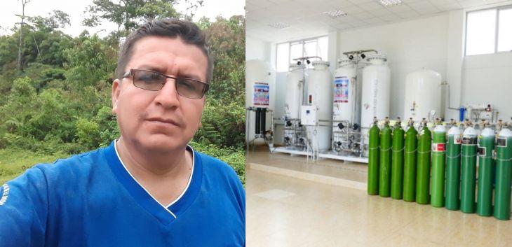 José Elgar Olano: El Dorado necesita una planta de oxígeno medicinal