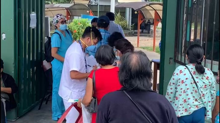 Hoy se inicia jornada de vacunación contra la Covid 19 en la región San Martín para personas de 50 a 59 años de edad