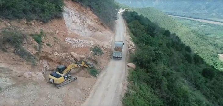 Rubén García: No se está realizando los trabajos de mantenimiento de la carretera a Sauce con un pool de maquinarias