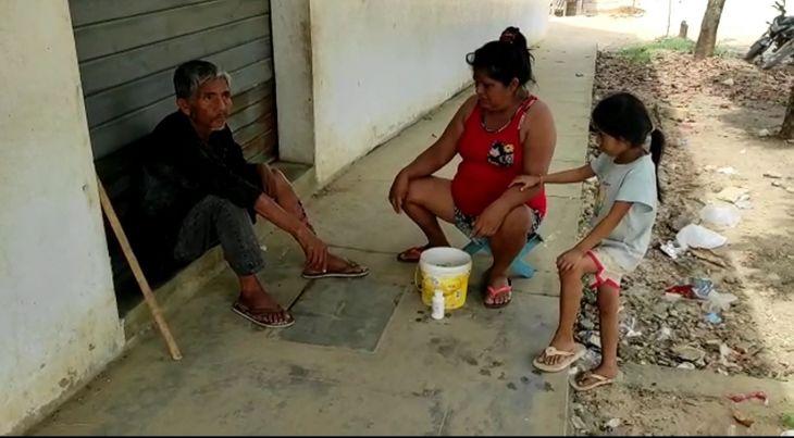 Disponen internamiento de indigente en el Hospital de La Banda de Shilcayo por tener una infección en la pierna