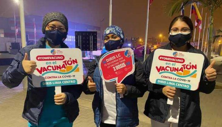 Sector Salud de San Martín plantea realizar vacunaton este domingo para inocular a personas de 50 a 59 años