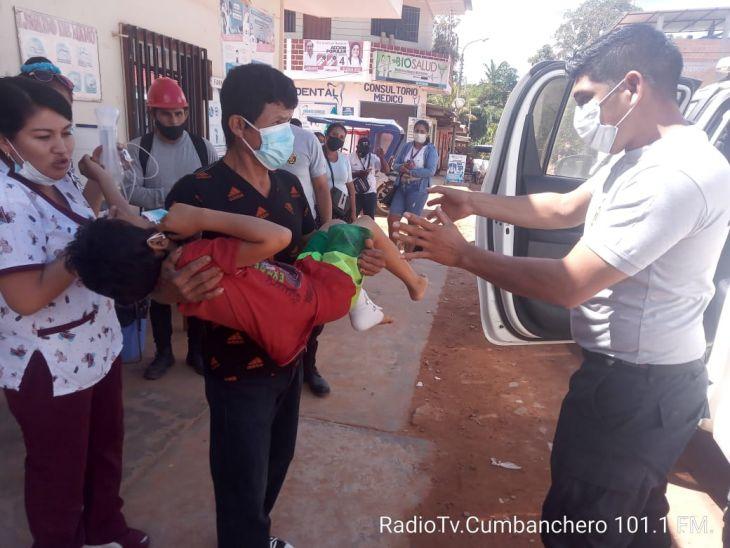 Sauce: Niño de nueve años resulta herido en el tobillo tras caer en un trampero artesanal para caza de animal, en la comunidad de Nueva Esperanza