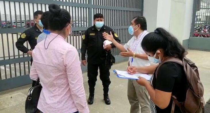 Fiscalía Provincial Penal suspende diligencia de inspección a la planta de oxígeno del Hospital II – 2 de Tarapoto, por ausencia de directora del nosocomio