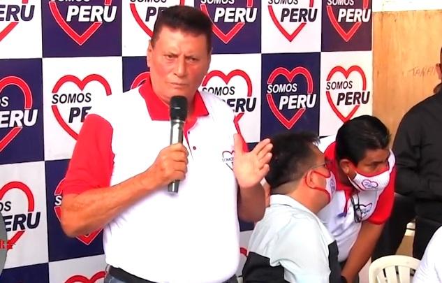 Walter Grundel Jiménez asume como coordinador regional de Somos Perú, y trabaja como candidato al gobierno regional de San Martín