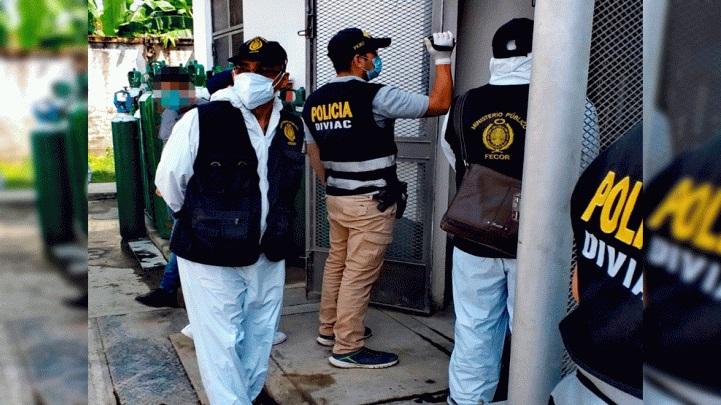 Fiscalía identifica a 6 exfuncionarios y dos exdirectores del hospital de Tarapoto, que se habrían beneficiado con el presunto tráfico de oxígeno