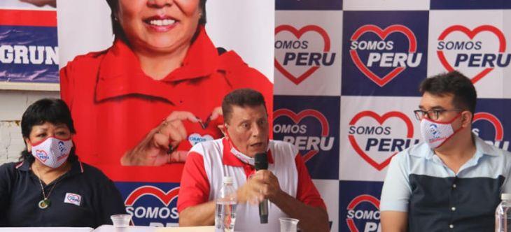 Walter Grundel es el nuevo coordinador Regional de Somos Perú