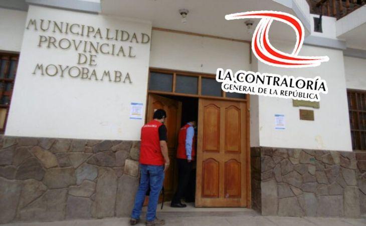 Contraloría alerta deficiencias en renovación de tuberías de agua potable en Moyobamba