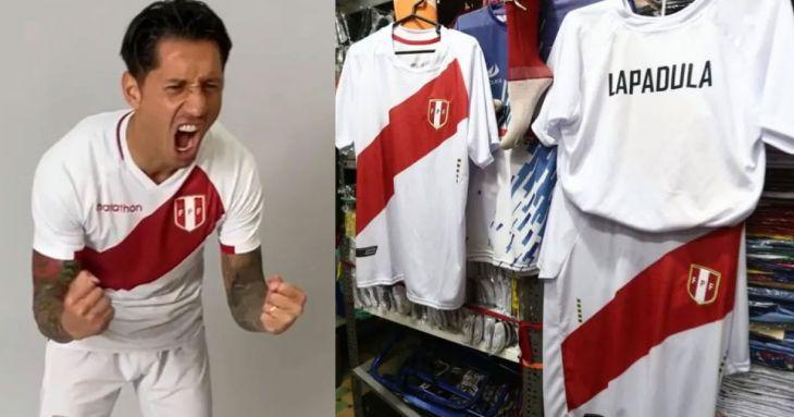 Tarapoto: Lapadula está de moda, camisetas de la selección se agotan en la ciudad