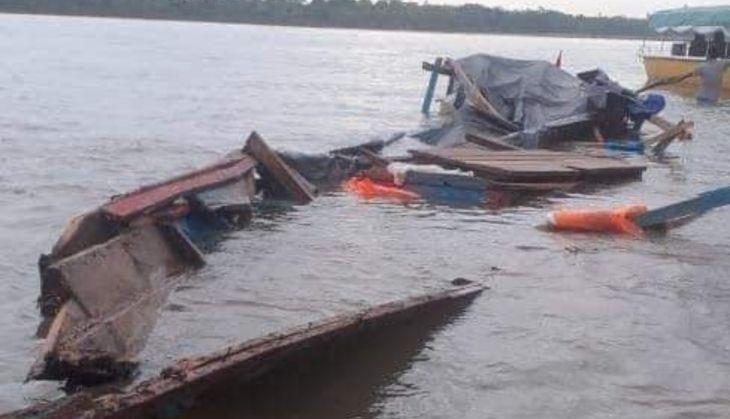 Comando de Operaciones de Yurimaguas, confirma que en la embarcación viajaban 83 personas