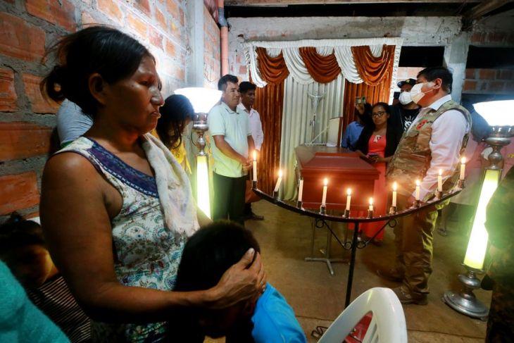 Hoy serán enterrados en Yurimaguas, 4 integrantes de una sola familia que perdieron la vida en el accidente en el río Huallaga