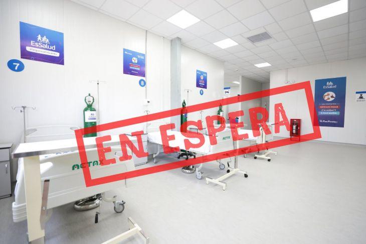 Por encontrarse terreno cerca de centro penitenciario, gestión para construcción del Hospital modular de emergencia de EsSalud en Tarapoto se encuentra estancado