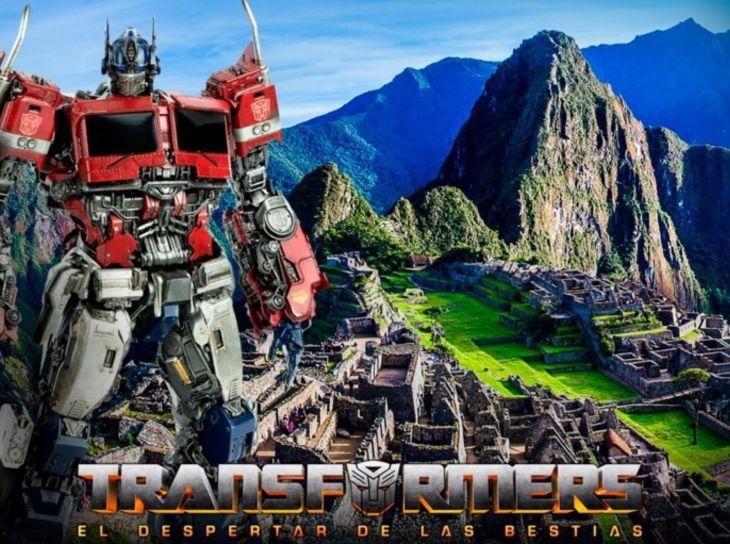«Transformers» regresa a Cusco para filmar escenas en parque arqueológico Sacsayhuamán