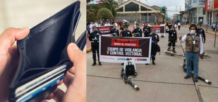 Red de Salud San Martín mantienen una deuda de con 17 trabajadores porque se quedó sin presupuesto
