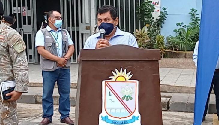 """Alcalde de Morales: """"Estamos sufriendo un importante recorte presupuestal del Foncomun"""""""