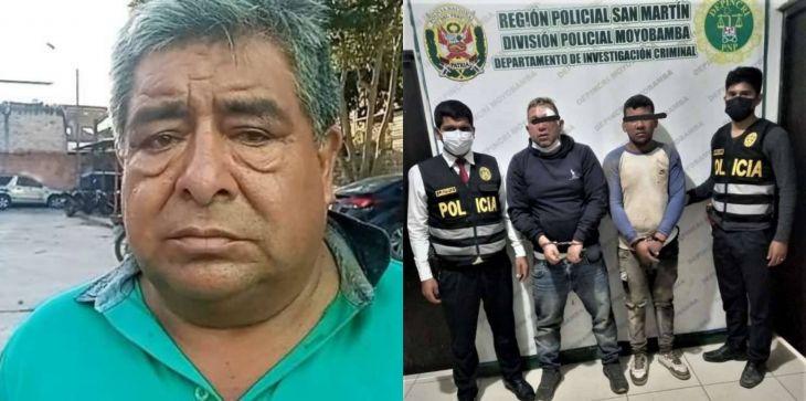 Nueva Cajamarca: Poder Judicial dicta prisión preventiva para tres imputados que habrían secuestrado a Empresario Molinero