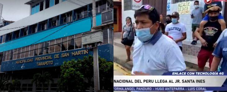 MPSM interpone denuncia ante el Ministerio Público por los delitos de hurto agravado y otros, por hechos ocurridos en la cuadra 4 del Jr. Santa Inés