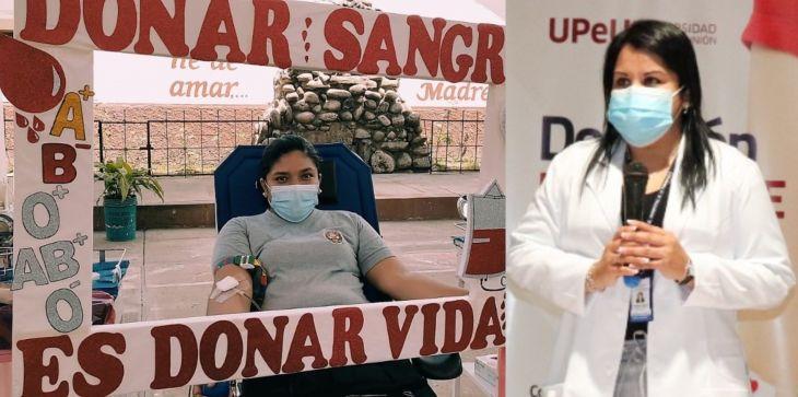 """Jacqueline Castañeda: """"El abastecimiento de sangre está en una situación crítica en la región San Martín"""""""