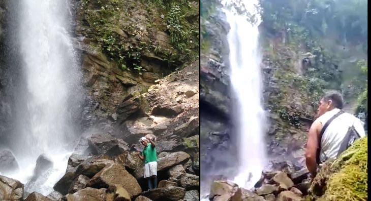 Tocache: En la localidad de Nuevo San Martín, distrito de Pólvora, ubican nuevas cascadas y buscan ponerlas en valor