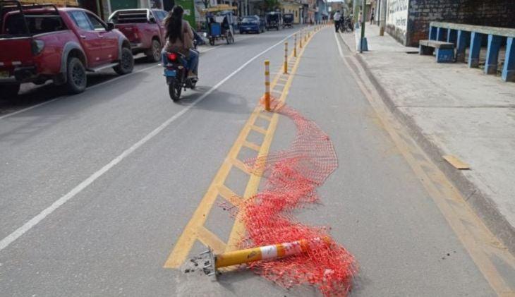 Contraloría detecta falta de coordinación y planificación en la ejecución de ciclovía de Moyobamba