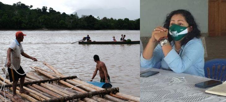 Karol Paredes dijo que está trabajando una propuesta legislativa juntamente con DEVIDA referente al desarrollo económico de la zona del Bajo Huallaga, Huallaga Central y Alto Huallaga