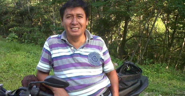 Ex Alcalde de Sauce, Sebastián Calderón Bacón fue intervenido por la PNP en Tarapoto, e internado en el penal de Sananguillo