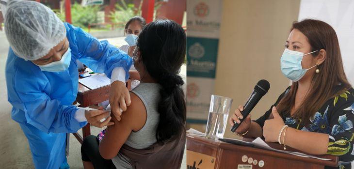 """Leslie Zevallos: """"El grupo etario de 25 a 29 años de edad es de 159 mil personas que tienen que vacunarse"""""""